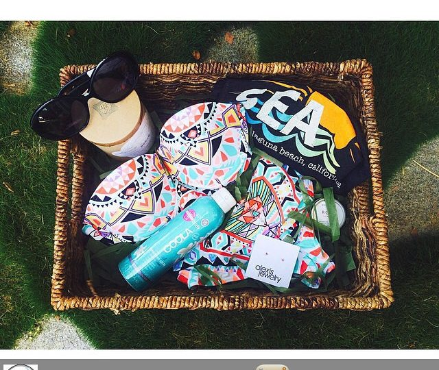 Love this Easter basket by @theshoplaguna