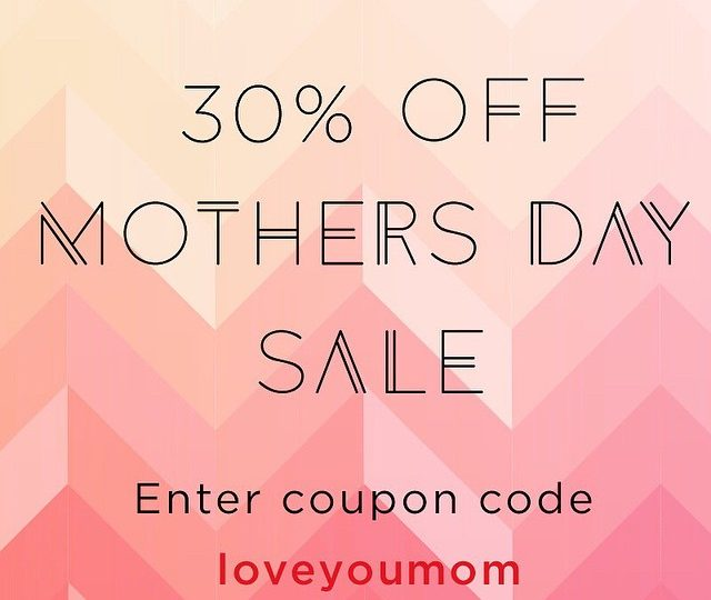 Get your Mother's Day game on!  30% off site wide sale through the weekend.  Enter LOVEYOUMOM at checkout  #mothersday #gifts #jewelry #loveyourmom #alexisjewelry #mamasrule