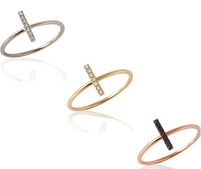 Sticking It To The Man ️ with the #StickRing #WhiteGold #YellowGold #RoseGold Three Styles For Every Type of Girl!