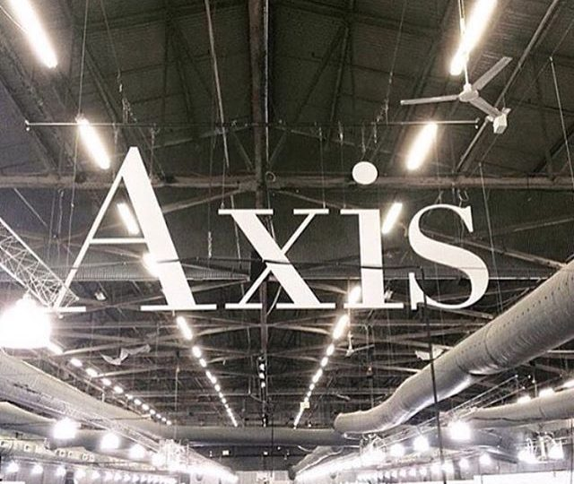 """TBT to last month in #NYC at @axisshow 
