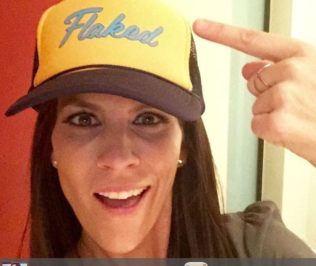 This one is on fire!! Catch Annabeth in Will Arnett's new show Flaked, decked in our jewels  @netflix @annabeth_gish #flaked #willarnett #annabethgish #netflix #streamingtoday #pyramidearrings #xring #alexisjewelry #finejewelry #madeinla