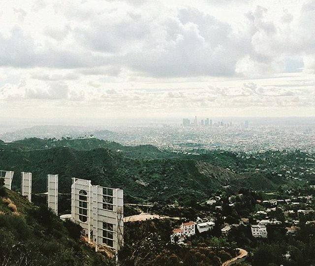 Not mad at all about the weather today #fallweather #laskyline #fall #bringiton #losangeles #hollywood #design #inspiration