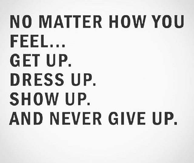 Words to live by 🏻 #mondaymotivation #nevergiveup #showup #mondays #yougotthis #alexisjewelry
