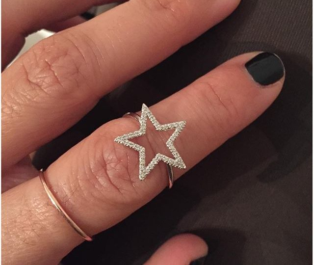 Star Power ️#custom #star #ring #diamonds #sterlingsilver #thursdayinspo #timetoparty #jewelry #alexisjewelry #finejewelry #madeinla