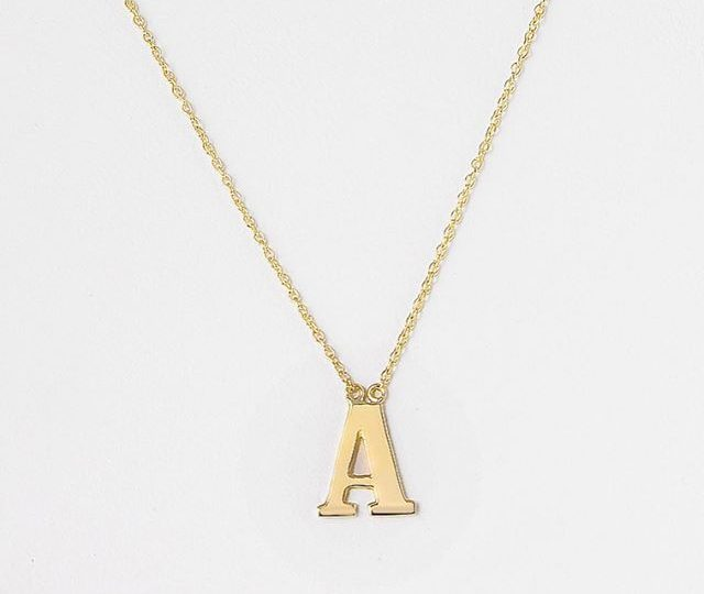 An everyday classic.  For your bestie. Your mom. Your child. Yourself.  #initialcharms #initials #14kgold #everydayjewelry #alexisjewelry #madeinla