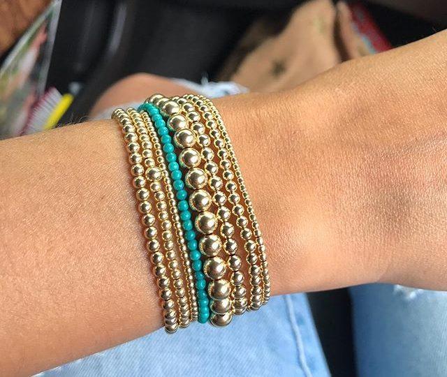 Sunday Stack  . . . . . #turqoise #gold #stretchbracelets #stringbracelets #everydayjewels #fashion #style #sundayfunday #alexisjewelry #madeinla