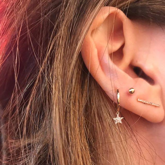 New Earrings • New Piercings . . . . .